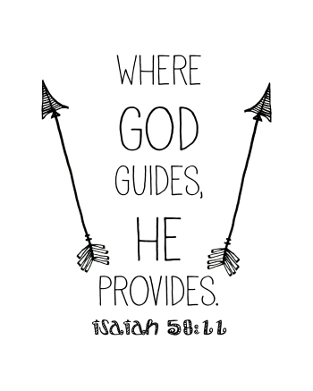 Where God Guides He Provides