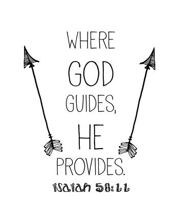 Where God Guides He Provides