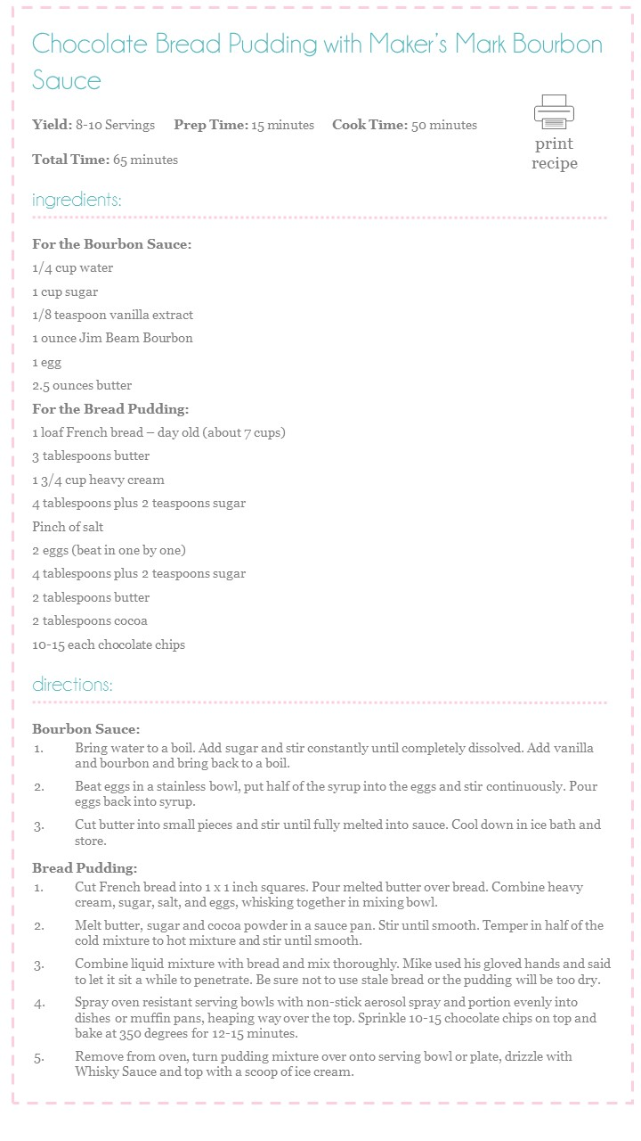 Chocolate Bread Pudding Recipe
